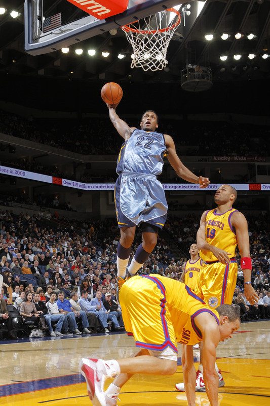 Leave it at that, Rudy Gay.
