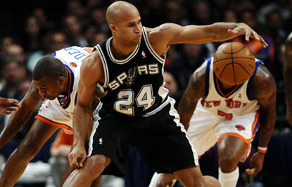 NBA: DEC 27 Spurs at Knicks