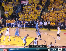 Warriors didn't win an upset; Nuggets lost to the better team