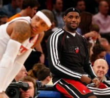 Will Carmelo Anthony Remain in Shadow of LeBron James?