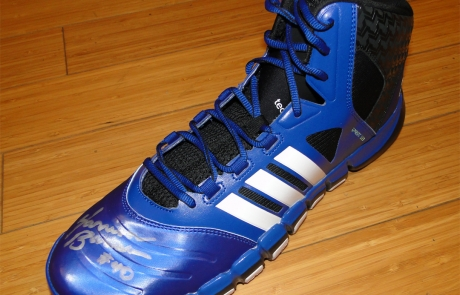Warriors World Giveaway: adidas Crazy Ghost Basketball Shoe Signed by Harrison Barnes