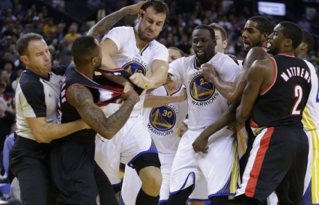 Reactions: Warriors 101, Blazers 113