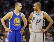 Steph Curry and Tony Parker