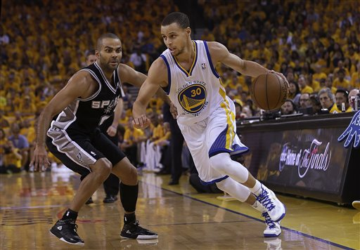 Stephen Curry, Tony Parker