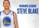 Video: Steve Blake Knocks Down His First 3-Pointer As A Warrior