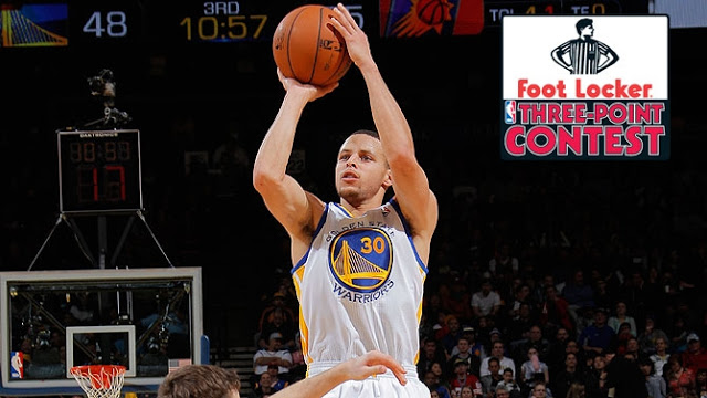 Stephen Curry 3 point contest