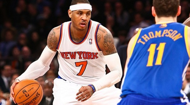 Carmelo Anthony to the Golden State Warriors?